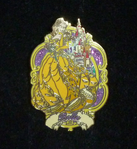 Pins & Brooches - Disney Beauty And The Beast Belle Pin