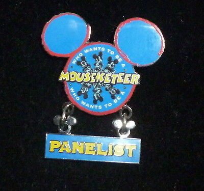 Pins - Disney Mouseketeer Panelist Pin Who Wants To Be A Mouseketeer