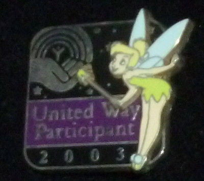 Pins - Disney Tinkerbell United Way Participant 2003 Pin