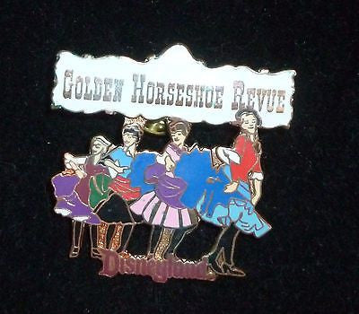 Pins - Disneyland Golden Horseshoe Revue Pin