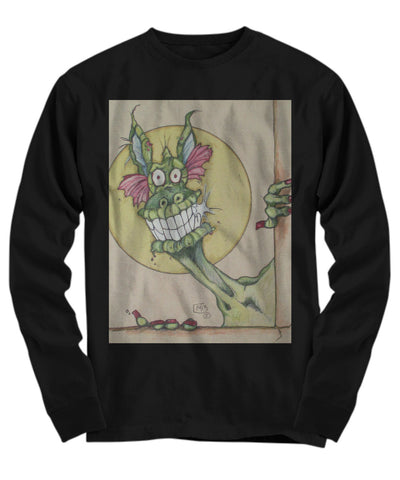 Shirt / Hoodie - I'm Baaack Dragon Long Sleeve Tshirt