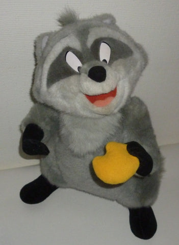 Stuffed Animals - Disney Meeko The Raccoon From Pocahontas Plush Animal