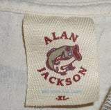 T-Shirts - Alan Jackson Country Music Star Tshirt Size XLarge