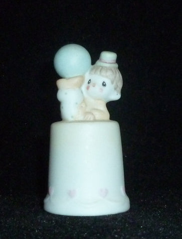 Thimbles - Collectible Precious Moments Clowns Figural Thimble
