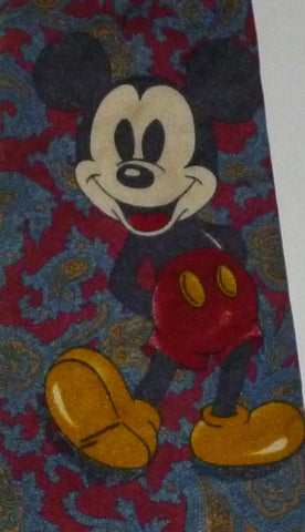 Ties - Disney Mickey Mouse Paisley Tie