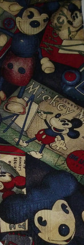 Ties - Disney Old Fashioned Classic Mickey Mouse Drawing Tie