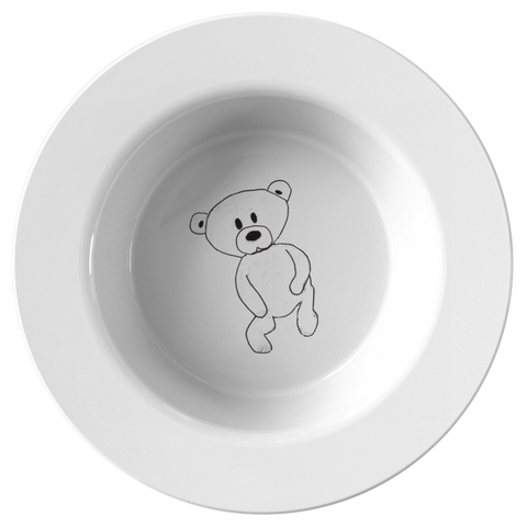 Baby Bear Cub Teddy Bear Bowl