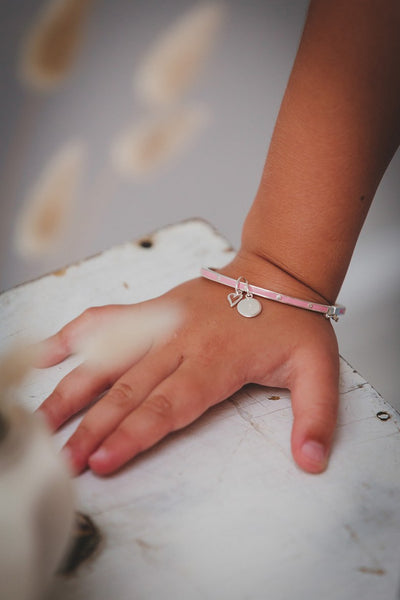 Little Kirstin Ash Pink Bangle