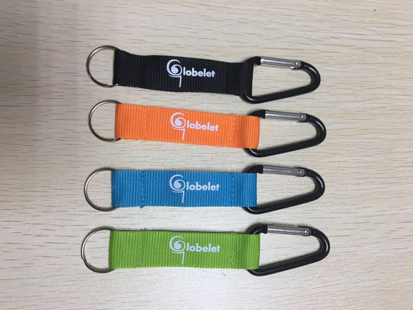 Cup/Bottle Holder - Carabiner Strap - Globelet Branded