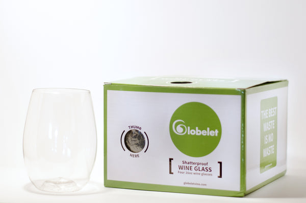 Globelet Vino - Wine Glasses - 4 pack