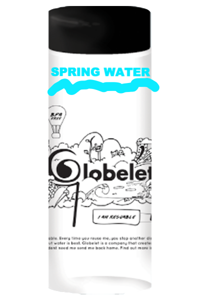 Spring water - Globelet Branded Bottles