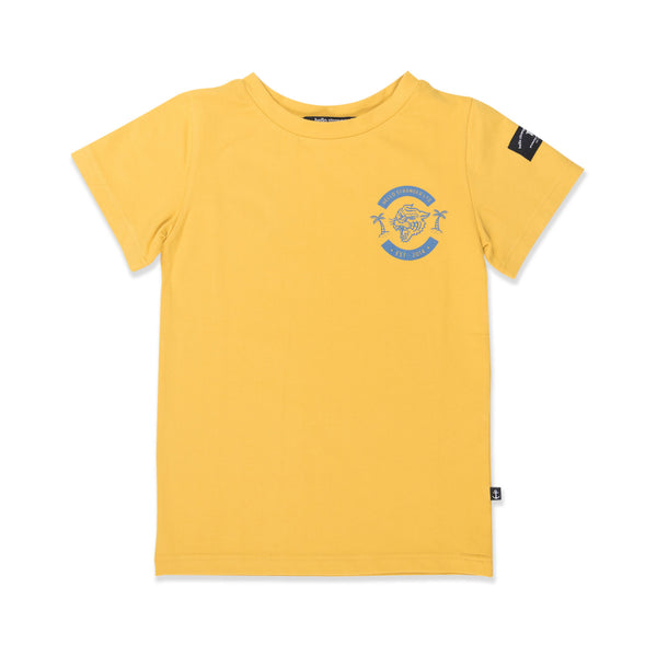 Hello Stranger WIld Tee - Yellow