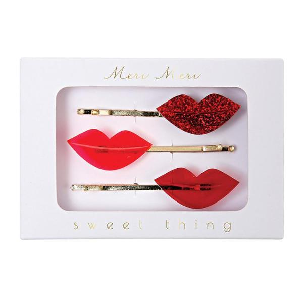 Meri Meri Lips Hair Pins