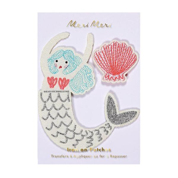 Meri Meri Mermaid Embroidered Patches