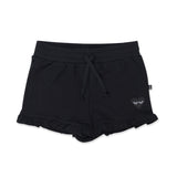 Hello Stranger Frill Shorties - Black