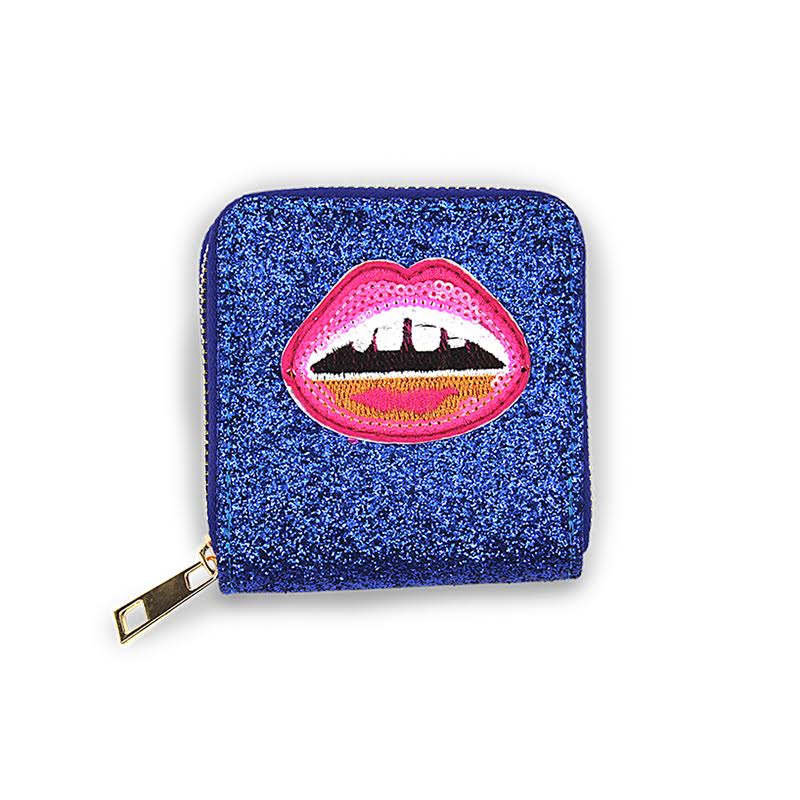 MINISTA - Patch Wallet - Lips