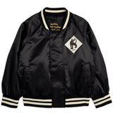 Mini Rodini Panther Baseball Jacket - Black