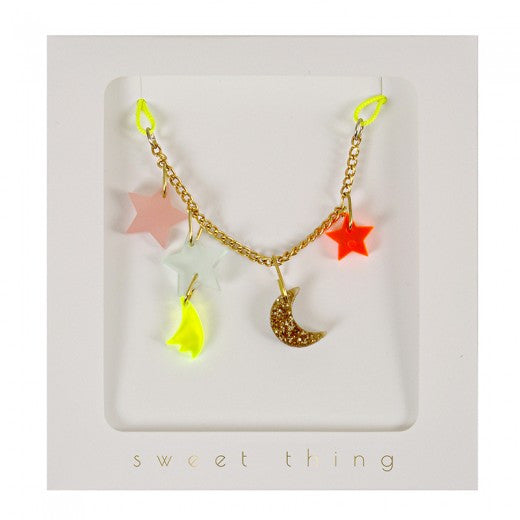 Meri Meri Stars & Moon Necklace
