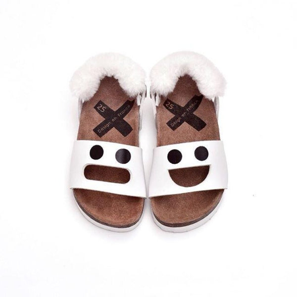 Boxbo Wistiti Sandals - White