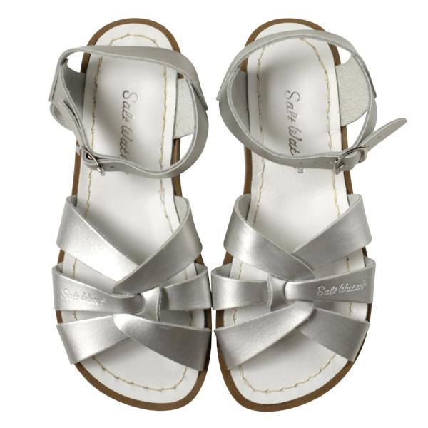 Salt Water Sandals Original Silver