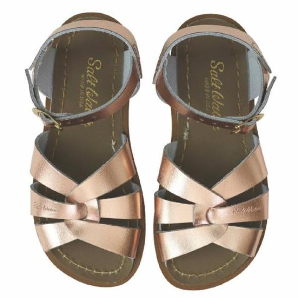 4aeca0f75aed2c Salt Water Sandals Original Rose Gold