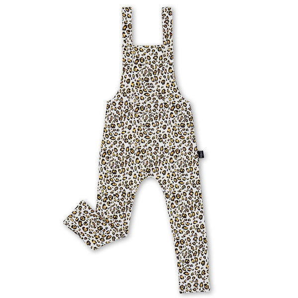 Kapow Animal Instinct Overalls - Milk