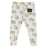 Kapow Le Rahr Trackpant Leggings - Oatmeal