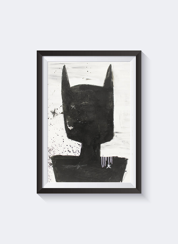 Federation Batman Back Art Print