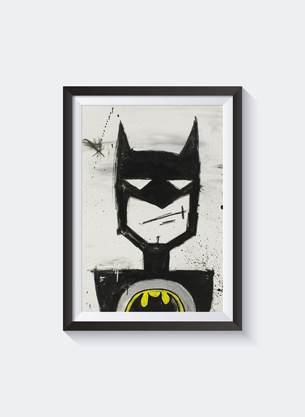 Federation Batman Front Art Print
