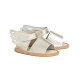 Pretty Brave Gold Butterfly Sandals