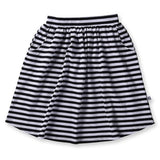 Little Horn Skirt Black Stripe