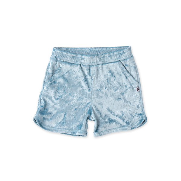Minti Velvet Sport Short - Light Blue (PREORDER)