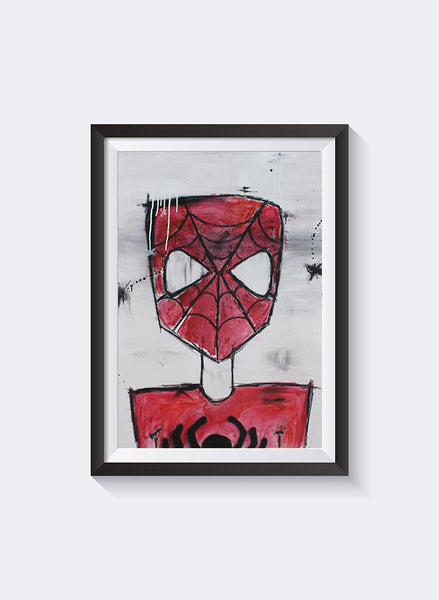 Federation Spidey Front Art Print