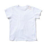 Missie Munster Surf Knotted Back Tee - White