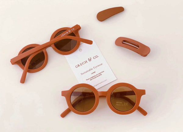 Grech & Co Sustainable Sunglasses - Rust
