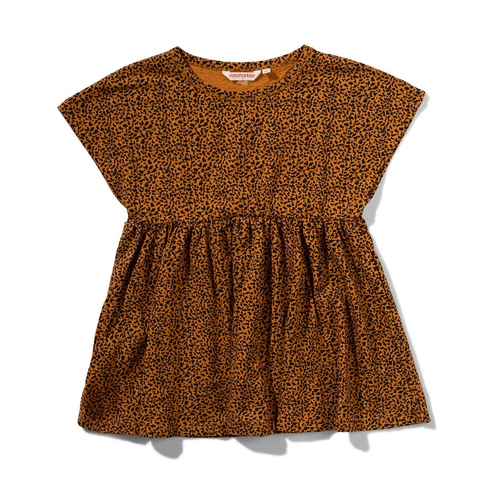 Missie Munster Cocoa Dress - Mini Leopard