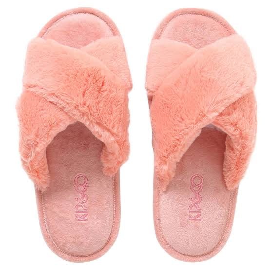 Kip & Co Blush Pink Kids Slippers - Blush