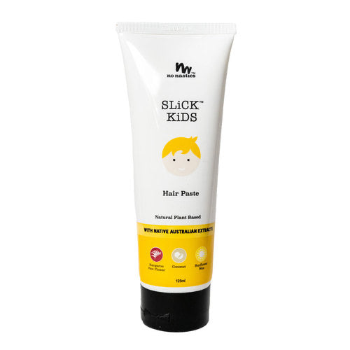 No Nasties Slick Kids Hair Paste - Plant Based Fresh Coconut & Zesty Lime