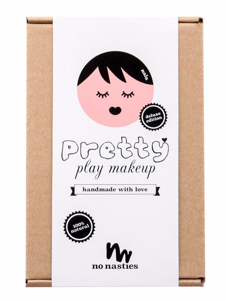No Nasties DELUXE Play Makeup Box - Pink