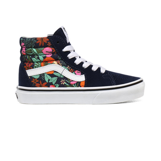 Vans SK8 Hi-Top - Multi Tropic Blue - Youth