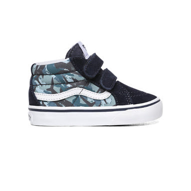 Vans Sk8 Mid-Issue V Animal Camo - Youth