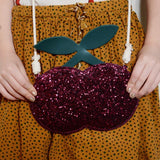Mimi & Lula Glitter Cherry Bag