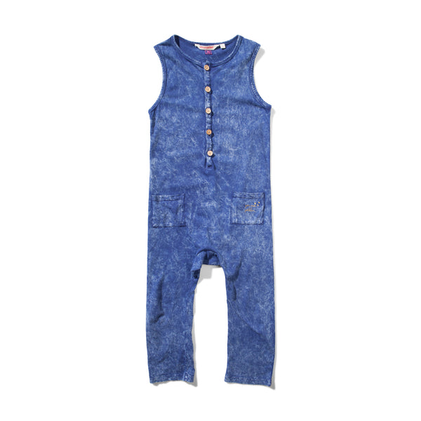 Missie Munster Mae Jumpsuit - Washed Denim