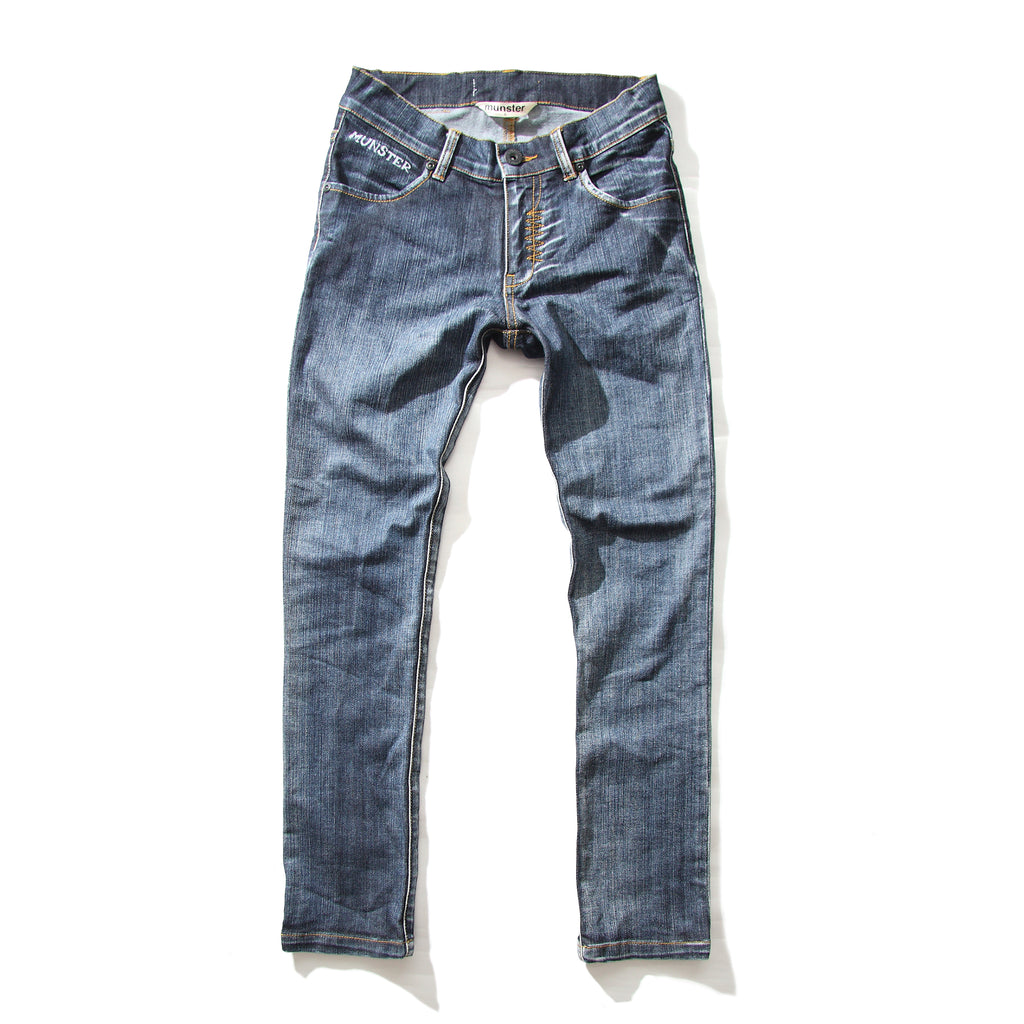 Munster - Slim Stovey Jeans - Beaten Blue