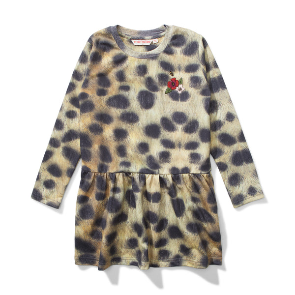 Missie Munster Leopard Spotty Dress
