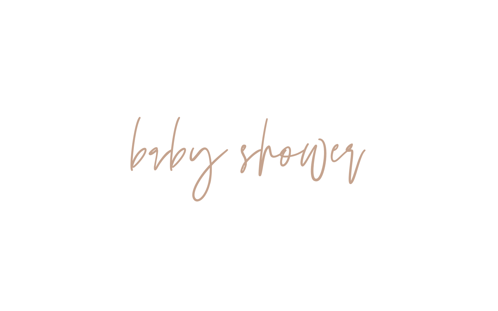 baby shower decal sign party decor
