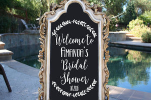 Custom Bridal Shower Decal - East Coast Vinyl Decals, Inc.