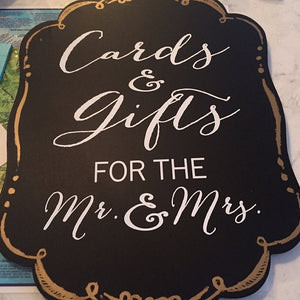 Cards and Gift Sign - Cards Sign - Gift Sign - Wedding Cards and Gifts Sign - Wedding Sign - Wedding Decor - Wedding Reception - Gift Table
