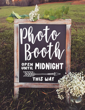 Photo Booth Decals, Photo Booth Sign, Photo Booth, Photobooth Sign, Wedding Sign, Chalkboard, Photo Booth Props, Chalkboard Sign, Rustic