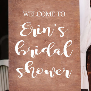 Welcome to the Bridal Shower of